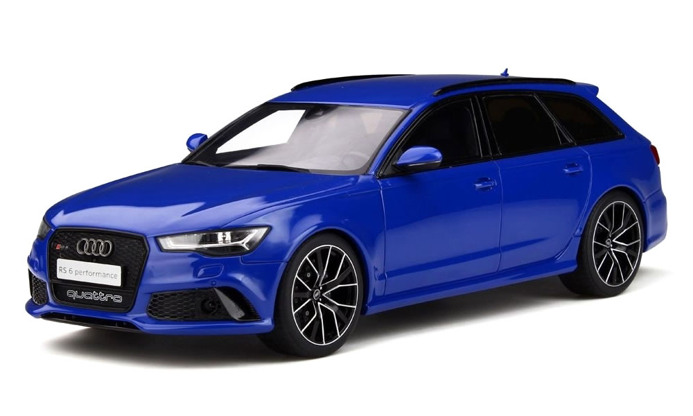 GT SPIRIT 1/18 アウディ RS6 Performance Nogaro Edition ブルー