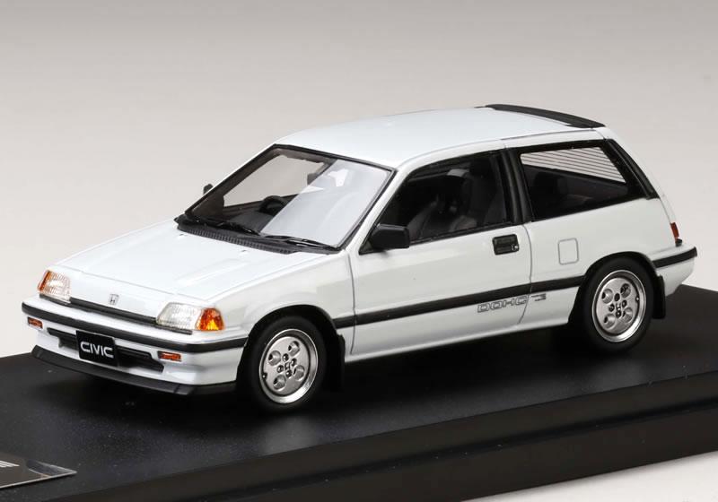 MARK43 1/43 ホンダ シビック Si (AT) 1984 (ワンダーシビック) ホワイト
