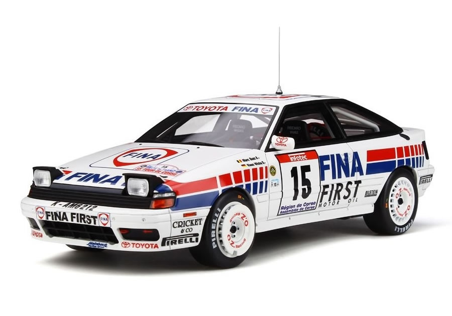 OttO mobile 1/18 トヨタ セリカ GT-Four ST165 No.15 ツール・ド・コルス 1991