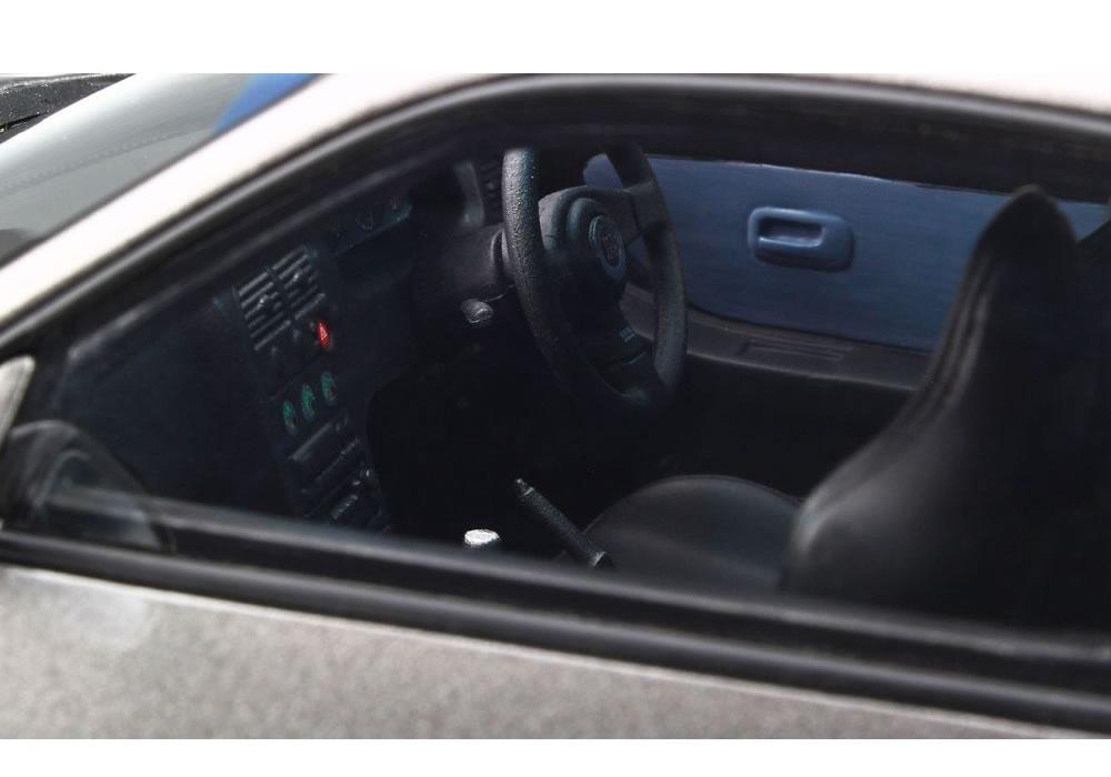 【絶版品】OttO mobile 1/18 日産 スカイライン R33 GT-R 大森ファクトリー グレーメタリック