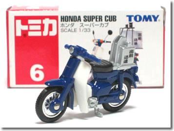 Tomica 006 Honda Super Cub