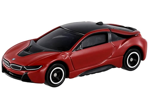 Tomica 017 BMW i8 first special (Red)