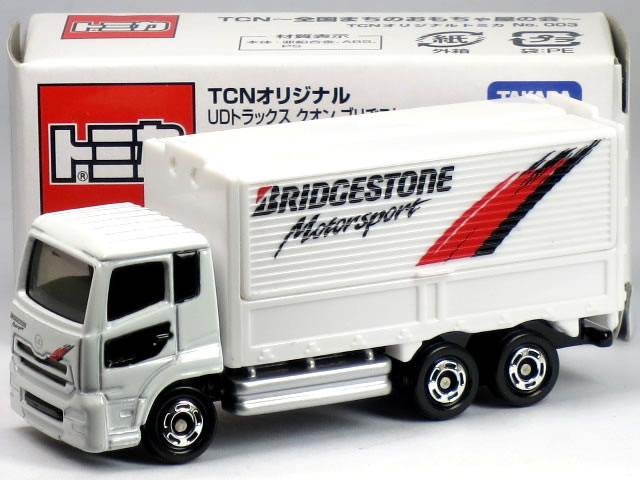 特注トミカ TCNオリジナル UDトラックス クオン ブリヂストン トラック