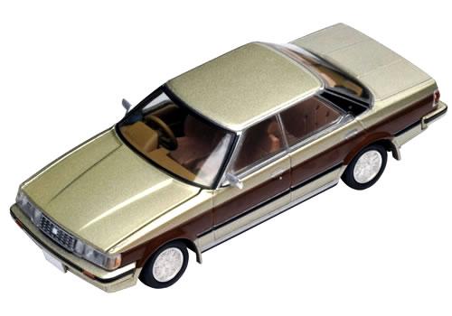 【絶版品】TLヴィンテージ NEO トヨタ マークII ハードトップ グランデ 1984 前期型 ベージュ/茶