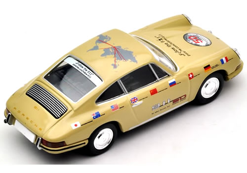 TL Vintage Porsche 911 1967 50th Anniversary World Tour 2013 (LV110b)