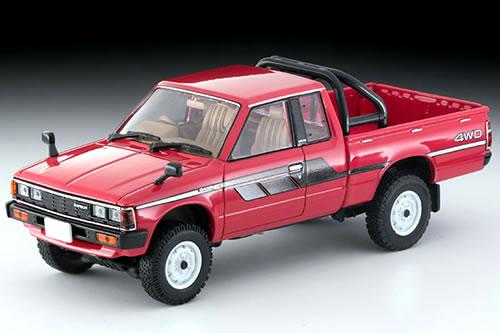 TLヴィンテージ NEO 43 ダットサン キングキャブ 4WD レッド