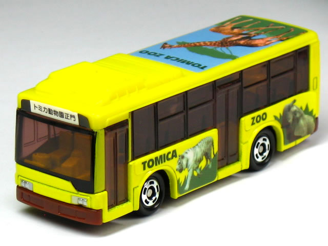 Tomica zoo bus