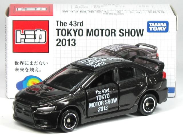 特注トミカ 第43回 東京モーターショー 2013 No.7 三菱 ランサーエボリューション X
