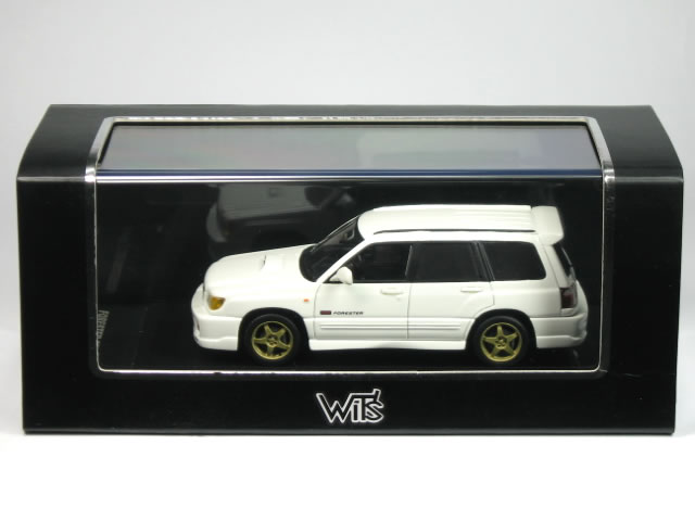Wit S 1 43 Subaru Forester Sti Ii Type M Pure White W332