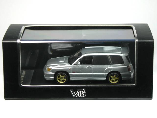 WIT'S 1/43 Subaru Forester STI II type M Premium Silver Metallic (W334)