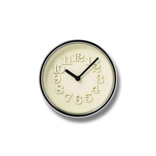 【200円クーポン対象】レムノス 小さな時計 掛け時計 置き時計 シルバー WR07-15SL おしゃれ かわいい Lemnos 日本製 モダン 北欧スタイル 掛け置き兼用 小さい 壁掛け時計 見やすい シンプル デザイナーズ 時計 壁掛時計 誕生日 結婚祝い 出産祝い 引越し祝い 改装祝い 送別