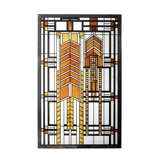 【700円クーポン対象】フランクロイドライト アートグラス オータムスーマック ダナ Autumn Sumac ステンドグラス ガラス工芸 アートディスプレイ おしゃれ かわいい アートグラス ステンドグラス ガラス工芸 フランク・ロイド・ライト Frank Lloyd Wright 装飾 建築 アート