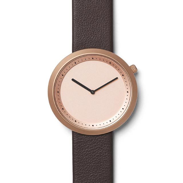 【10%OFFクーポン対象】bulbul ブルブル 腕時計 Facette BLB020003 メンズ BLB020003 おしゃれ かわいい Rose Golden Steel on Brown Italian Leather 腕時計 BULBUL時計 ブルブル腕時