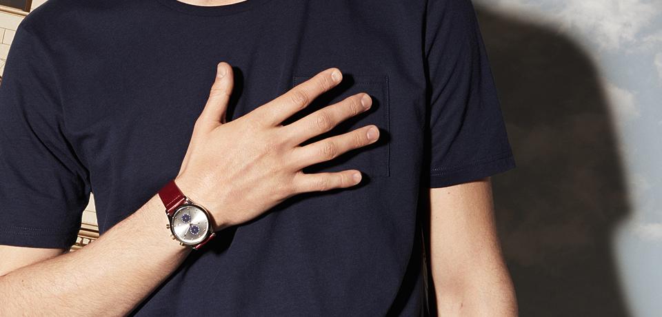 トリワ TRIWA ランセンクロノ ラック 腕時計 LCST115-CL010312 ネイビー&ブラウン シルバー&ネイビー&ブラウン ユニセックス LANSEN CHRONO LOCH おしゃれ かわいい ランセンクロノ ラック 腕時計 LCST115-CL010312 ネイビー×ブラウン シルバー×ネイビー  【】