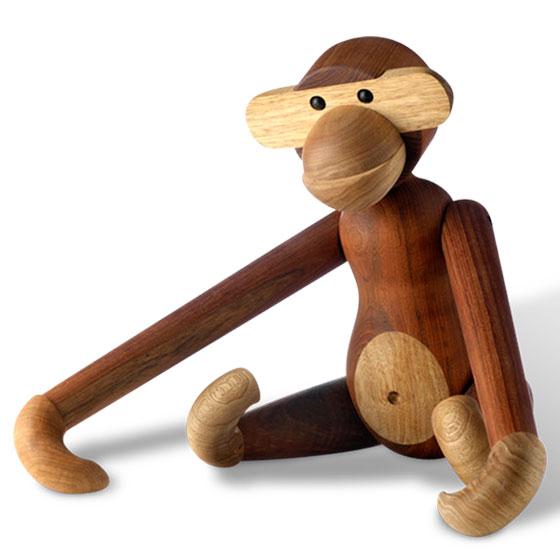 【1000円クーポン対象】カイボイスンデンマーク モンキー ミディアム 猿 さる サル M MONKEY 39253 おしゃれ かわいい Kay Bojesen Denmark カイ・ボイスン カイ ボイスン MONKEY MEDIUM 北欧 カイ・ボイスン 猿 さる サル M Mサイズ オブジェ 置き物 北欧 木製 木 ハンドメ