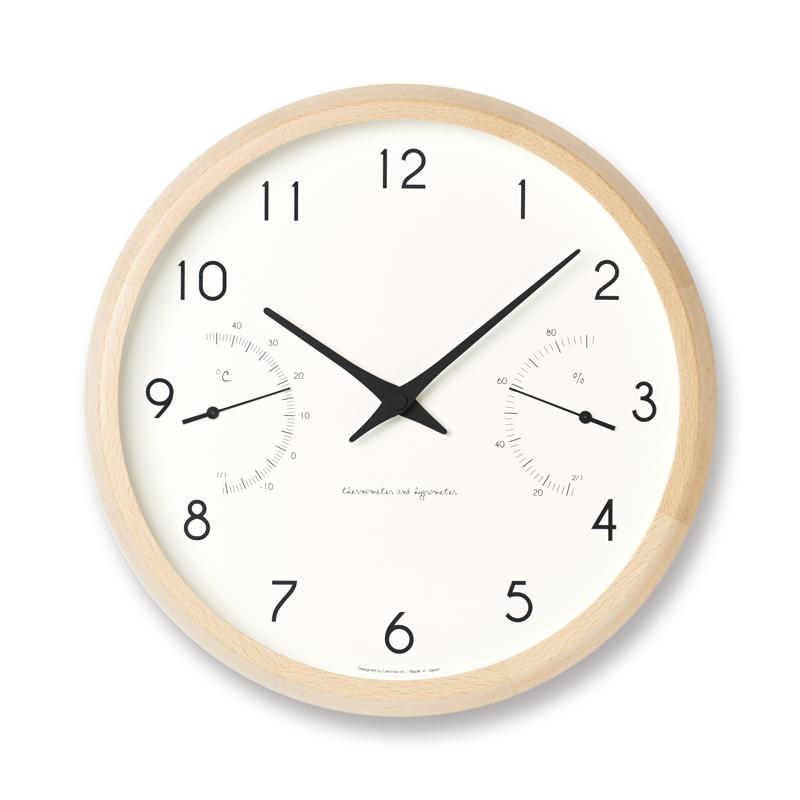 【200円クーポン対象】レムノス Campagne air ナチュラル PC17-05 NT 掛け時計 PC17-05NT おしゃれ かわいい Lemnos 日本製 モダン 北欧スタイル Campagne air ナチュラル PC17-05 NT 壁掛け時計 見やすい レトロ 時計 壁掛時計ウォールクロッ 誕生日 結婚祝い 出産祝い 引越