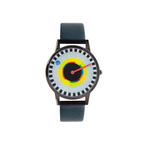 【10%OFFクーポン対象】キッカーランド ミルトングレイサーウォッチ スプロケット 腕時計 2900S おしゃれ かわいい kikkerland Milton Glaser Watch Sprocket ユニーク ニューヨーク ア