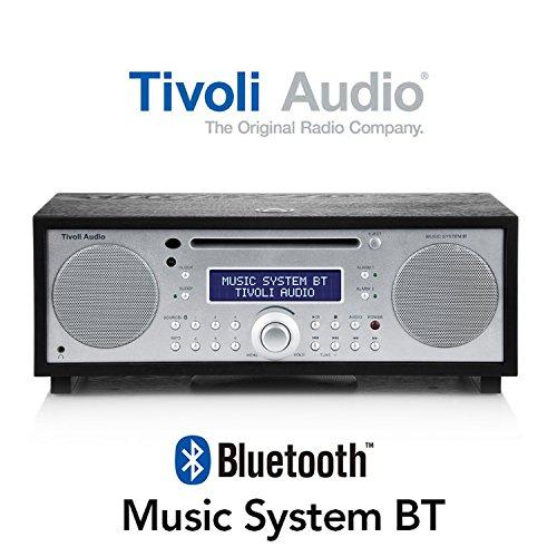 Music Bluetooth ワイヤレス Tivoli おしゃれ System MSYBT-1775-JP BT ミュージックシステム かわいい お中元 ブラック/シルバー iPod ミュージックシステム チボリ BT MSYBT-1775-JP ブルートゥース テーブルラジオ・スピーカー BT スピーカー テーブルラジオ・スピーカー