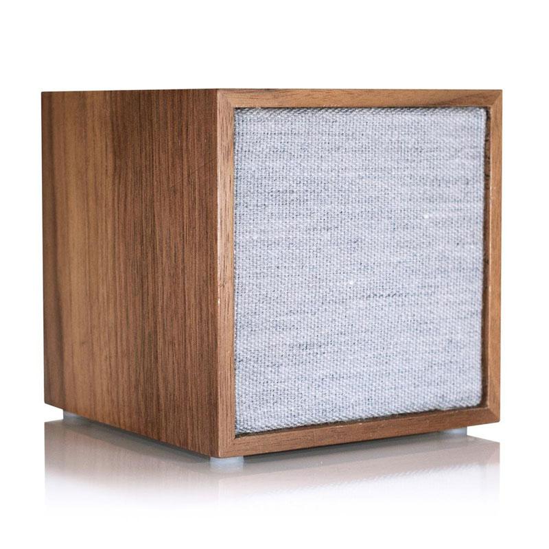 【全品10%OFFクーポン】チボリ Tivoli コンパクト Bluetooth スピーカー Art Cube ウォルナット/グレー CUB-1741-JP CUB-1741-JP おしゃれ かわいい ポイント消化 コンパクト Bluetooth スピーカー Art Cube ウォルナット/グレー CUB-1741-JP【送料無料】