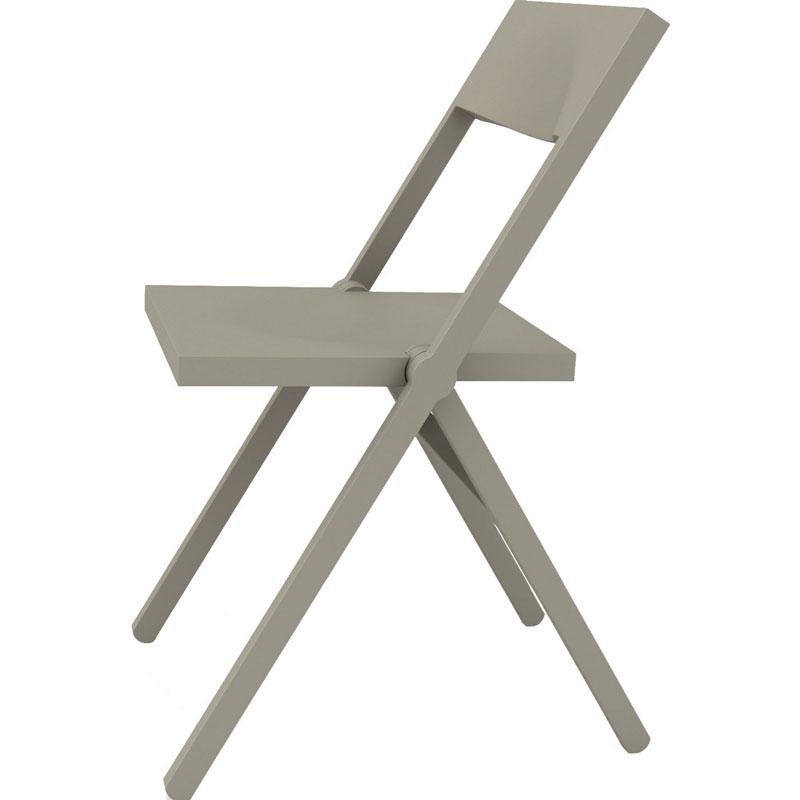 【2000円OFFクーポン対象】ALESSI アレッシィ PIANA フォールディングチェア グレー 折りたたみチェア おしゃれ かわいい 折り畳み椅子 いす イス チェア アレッシ イタリア デザイン デザイナーズ【送料無料】