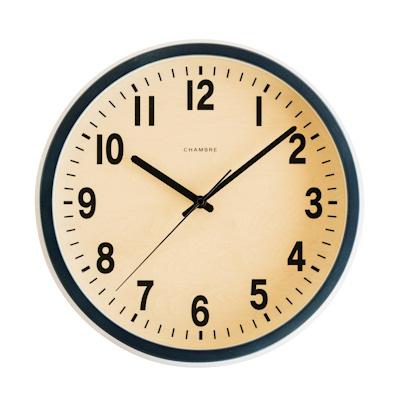 【200円クーポン対象】PUBLIC CLOCK 掛け時計 ネイビー CH-027NV おしゃれ かわいい 時計 ウォールクロック レトロ アンティーク 壁掛け時計 誕生日 結婚祝い 出産祝い 引越し祝い 改装祝い 送別 退職 内祝い 新築祝い 誕生日プレゼント プレゼント 結婚式 プチギフト ポイン