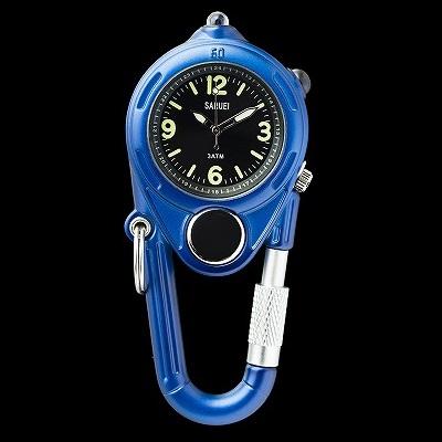 LED KEY WATCH 携帯用時計 ネイビー おしゃれ かわいい 腕時計 懐中時計 ウォッチ 時計 レトロ アンティーク
