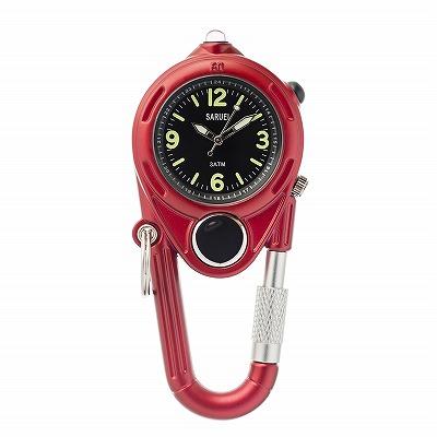 LED KEY WATCH 携帯用時計 レッド おしゃれ かわいい 腕時計 懐中時計 ウォッチ 時計 レトロ アンティーク