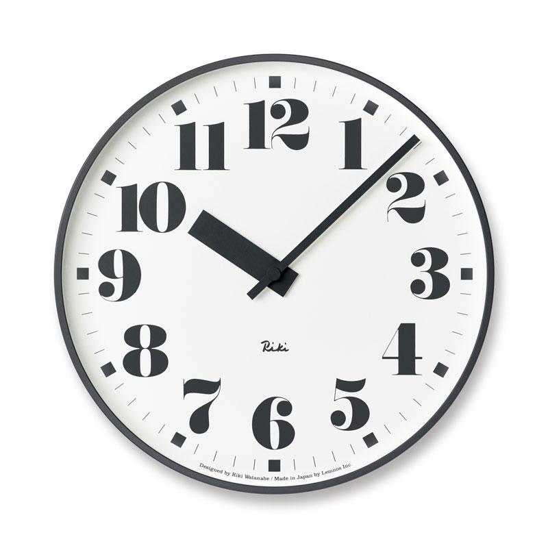 【500円クーポン対象】レムノス RIKI PUBLIC CLOCK リキパブリッククロック 掛け時計 WR17-08 リキクロック RIKI CLOCK Lemnos WR17-06 おしゃれ かわいい 公共時計を第一線でデザインしてきた渡辺力のエッセンスが凝縮された時計 リキクロック 掛け時計 RIKI CLOCK Lemnos