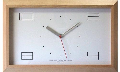 【200円クーポン対象】フォーカススリー 黄金比の時計 V-0001(電波時計)ナチュラル 掛け時計 V-0001-NATURAL おしゃれ かわいい 時計 壁掛け時計 デザイン デザイナーズ ウォールクロック 誕生日 結婚祝い 出産祝い 引越し祝い 改装祝い 送別 退職 内祝い 新築祝い 誕生日