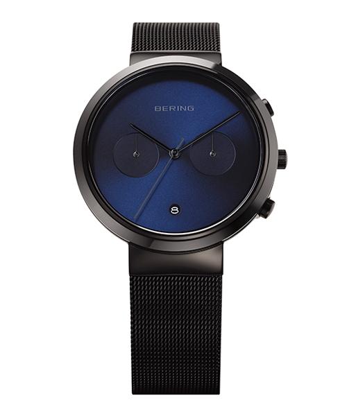 <クーポン除外品>ベーリング 腕時計 31140-227 ブルー/ブラック メンズ 31140-227 おしゃれ かわいい フォーマル BERING Mens Smart Ceramic ネイビー 男性 時計 シンプル モダン