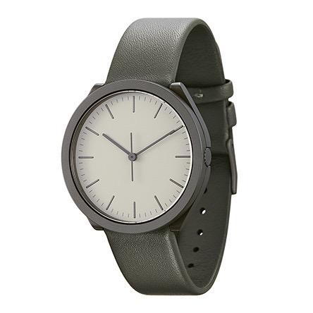 【10%OFFクーポン対象】ノーマル HIBI H23-L18GR 腕時計 メンズ グレー おしゃれ かわいい 男性 normal timepieces アナログ 時計 男性 デザイナーズ シンプル ミニマム 誕生日 結婚祝