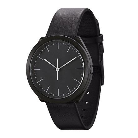 【10%OFFクーポン対象】ノーマル HIBI H24-L18BL 腕時計 メンズ ブラック おしゃれ かわいい 男性 normal timepieces アナログ 時計 男性 デザイナーズ シンプル ミニマム 誕生日 結婚