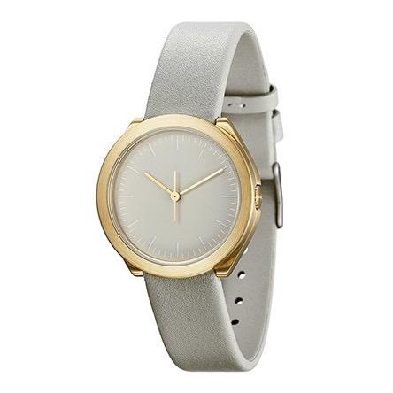 【10%OFFクーポン対象】ノーマル HIBI H01-L15GR 腕時計 レディース ライトグレー ゴールド おしゃれ かわいい 女性 normal timepieces アナログ 時計 男性 デザイナーズ シンプル ミニ