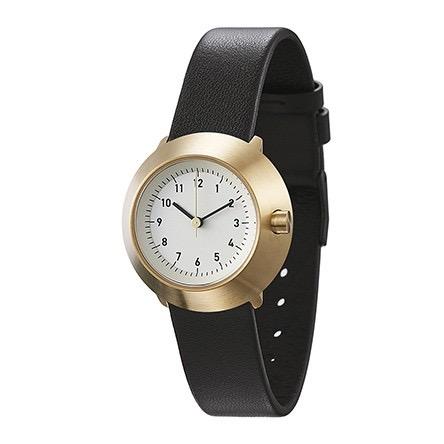 【送料無料】ノーマル FUJI F03-L15BL 腕時計 レディース アイボリー ブラック ゴールド おしゃれ かわいい 女性 normal timepieces アナログ 時計 男性 デザイ