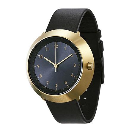 【エントリーで5倍】ノーマル FUJI F25-L20BL 腕時計 メンズ ブラック ゴールド おしゃれ かわいい 男性 normal timepieces アナログ 時計 男性 デザイナーズ シンプル ミニマム