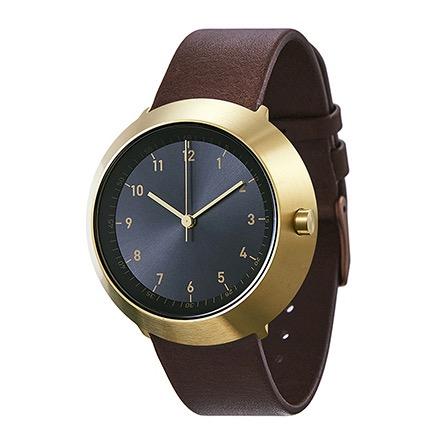 【10%OFFクーポン対象】ノーマル FUJI F25-L20BR 腕時計 メンズ ブラック ゴールド ブラウン おしゃれ かわいい 男性 normal timepieces アナログ 時計 男性 デザイナーズ シンプル ミ