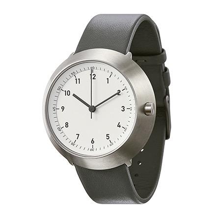 【10%OFFクーポン対象】ノーマル FUJI F21-L20GR 腕時計 メンズ ホワイト シルバー グレー おしゃれ かわいい 男性 normal timepieces アナログ 時計 男性 デザイナーズ シンプル ミニ