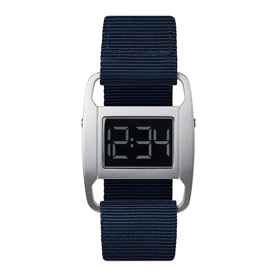 【10%OFFクーポン対象】VOID PXR5 腕時計 PXR5-SI/NY ネイビー おしゃれ かわいい ヴォイド 時計 ユニセックス デジタル 時計 男性 デザイナーズ シンプル ミニマム 誕生日 結婚祝い 出