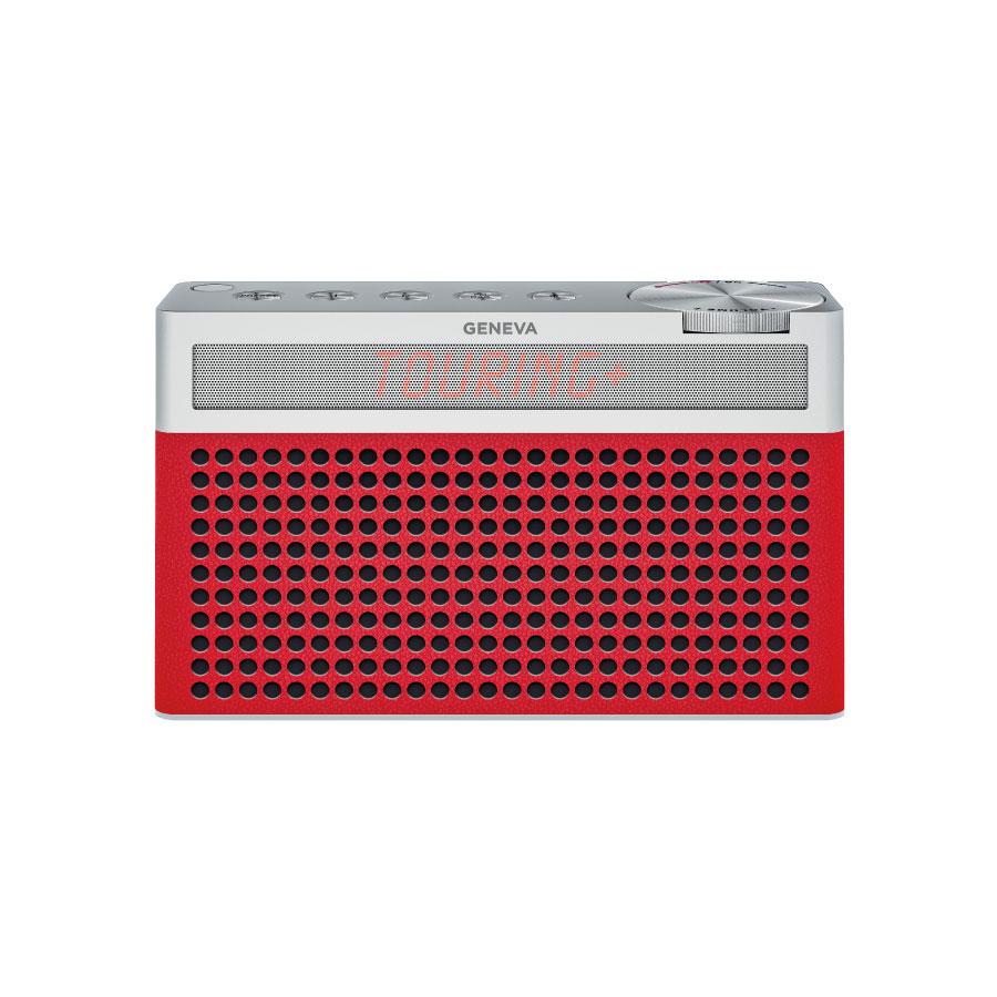 送料無料 スイスのオーディオメーカーGENEVAのスピーカー 買取 P5倍 2 20 23:59までGeneva ジェネバ Touring S+ 人気の定番 FMラジオ Bluetooth 赤 レッド P ワイヤレス ブルートゥース 875419016689JP 外付けスピーカー かわいい おしゃれ ポータブルスピーカー ラジオ