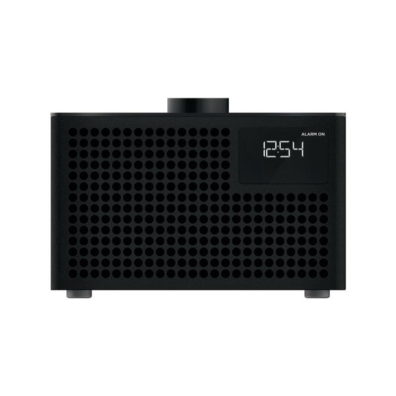 Geneva ジェネバ Acustica Lounge FMラジオ Bluetooth スピーカー ブラック 875419016832JP お中元 おしゃれ かわいい ワイヤレス ラジオ ブルートゥース 外付けスピーカー PCスピーカー 無線 オーディオ デザイン スイス デザイナーズ スピーカー 音楽 インテリア 誕生日 結