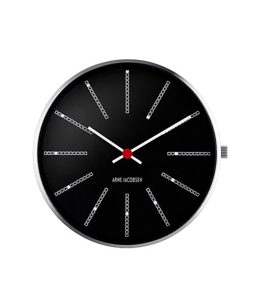 【エントリーで5倍】アルネヤコブセン ARNE JACOBSEN バンカーズウォッチフェイス ブラック 40mm 53105(腕時計本体のみ/ストラップ別売) おしゃれ かわいい BANKERS WATCH WATCH FACE 黒 時計 メンズ レディース ユニセックス 北欧 デザイン デザイナーズウォッチ