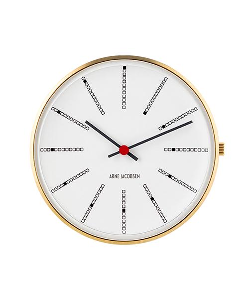 アルネヤコブセン ARNE JACOBSEN バンカーズウォッチフェイス ゴールド 30mm 53113(腕時計本体のみ/ストラップ別売) おしゃれ かわいい BANKERS WATCH WATCH FACE ホワイト 金 時計 メンズ レディース ユニセックス 北欧 デザイン デザイナーズウォ