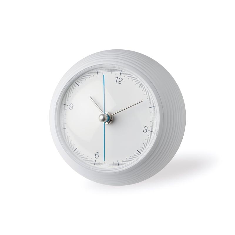 【390円クーポン対象】レムノス Lemnos earth clock ホワイト TIL16-10 WH 置き時計 おしゃれ かわいい 白 スイープセコンド 時計 北欧 シンプル 大きい 見やすい デザイン 誕生日 結婚祝い 出産祝い 引越し祝い 改装祝い 送別 退職 内祝い 新築祝い 誕生日プレゼント プレゼ