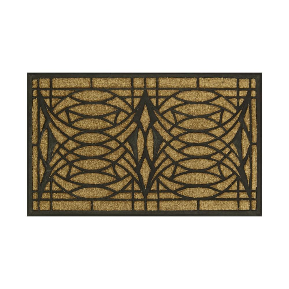 フランクロイドライト ブロッサム ドアマット 玄関マット おしゃれ かわいい 屋外 ドアーマット フランク・ロイド・ライト Frank Lloyd Wright ドアマット Blossom インテリア 玄関 マット雑貨 モダン