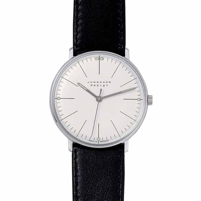 【2000円OFFクーポン対象】マックスビル 腕時計 Line-2710 Max Bill 掛け時計 時計 おしゃれ かわいい マックス・ビル バウハウス デザイン デザイナー リストウォッチ 手巻き ※ バンドのサイズ調整は承っておりません。調整が必要な場合は、お近くの専門店にご【送料無料】