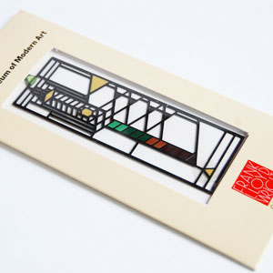 Frank Lloyd Wright and the lobby window bookmark