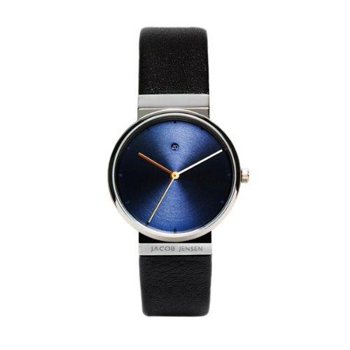 <クーポン除外品>ヤコブ・イェンセン 腕時計 JJ851 レディース ブルー ブラック JJ851 おしゃれ かわいい フォーマル ヤコブイェンセン JACOB JENSEN 腕時計 JJ851 レディース ブ