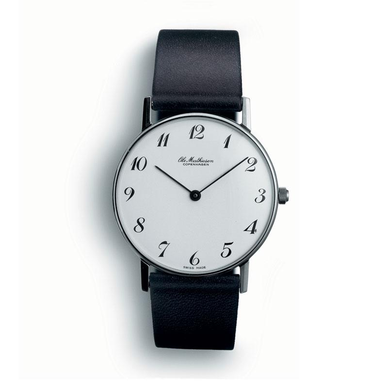 【10%OFFクーポン対象】オーレマティーセン ARABIA.WHITE DIAL OM-3.28 腕時計 レディース OM328 おしゃれ かわいい Ole Mathiesen 腕時計 王室御用達 デザイン 北欧 時計 オーレ・マテ