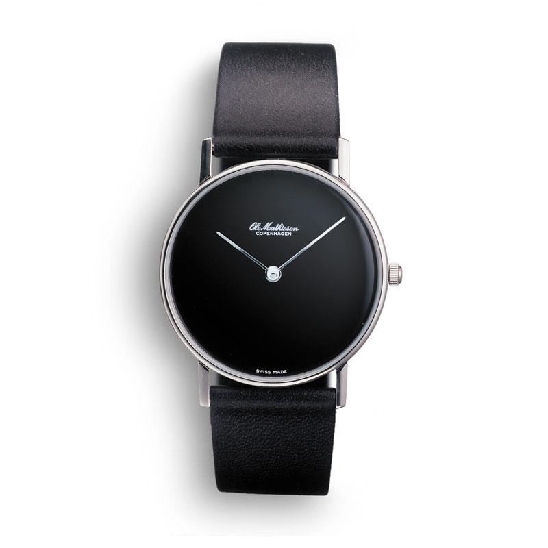 【10%OFFクーポン対象】オーレマティーセン NO.INDEX.BLACK DIAL OM-4.28 腕時計 レディース OM428 おしゃれ かわいい Ole Mathiesen 腕時計 王室御用達 デザイン 北欧 時計 オーレ・マ