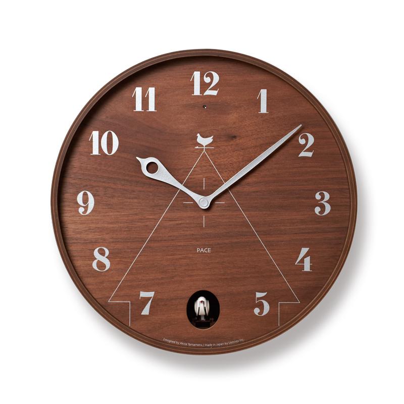 この商品が【10%OFF】になるクーポンあり!レムノス PACE 掛け時計 LC11-09BW クリスマス おしゃれ かわいい Lemnos 日本製 モダン 北欧スタイル 山本章 壁掛け時計 見やすい レトロ 掛時計 デザイナーズ デザイン シンプル